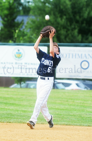 Collier plays Taney in Little League game