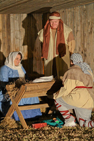 2010 Axe Memorial UMC Living Nativity