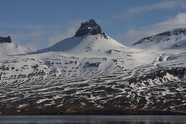 Umhverfis Stöng í Berufirði 05.04.2009