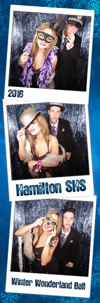 Hamilton Winter Wonderland Ball 2016 Photostrips