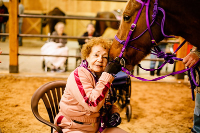 Helen Smith, 90, Gets Back in the Saddle*
