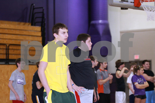 2010 RTHS DODGEBALL LEAGUE - OPENING NIGHT FREE FOR ALL