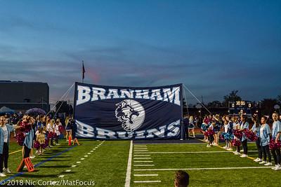 Branham Senior Night