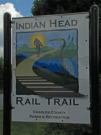 6. Indian Head Rail Trail Through Ride_White Plains, MD to Indian Head, MD  7/10/2009