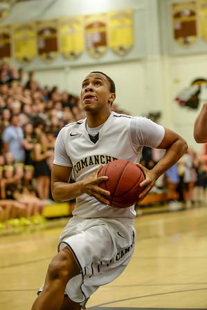2014-2015 Canyon Varsity Basketball Highlights
