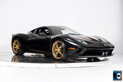 Ferrari 458 Speciale Black