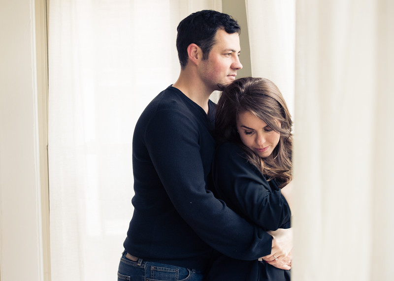 Engagement of Maggie Ahern and Michael Brasie. Photo by Megan Bearder- www.MeganElizabethStudios.com
