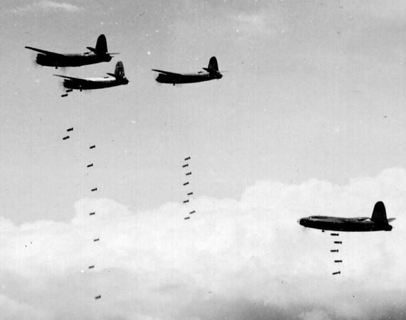 WWII B-26 bomber pilot
