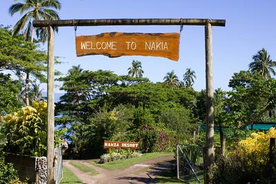 Nakia Resort, Taveuni Fiji Nov 2013