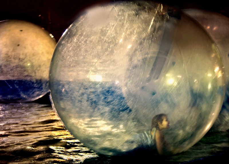 Girl in a Water ball at State Fair .jpg