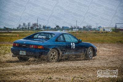 PR #18 Blue 1992 Toyota MR2