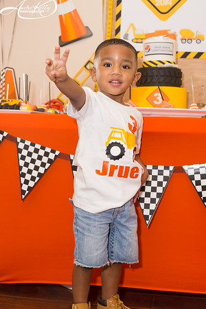 Jrue Davis Construction Theme 3rd Birthday Party
