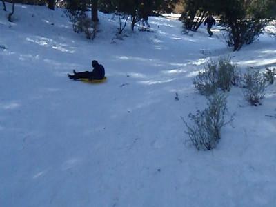 Snow Play at Pine Mountain Club