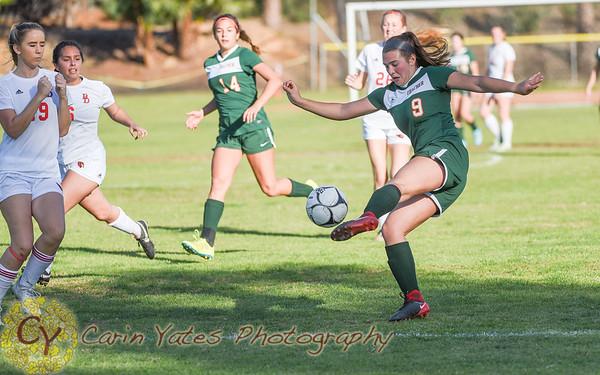 1-27-18 Girls Varsity  VS Bishop Diego