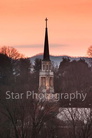 Sunrise At Milligan College 03-28-13