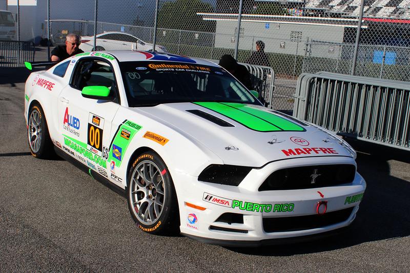 GS Zero Zero Motorsport Ford Mustang Boss 302R