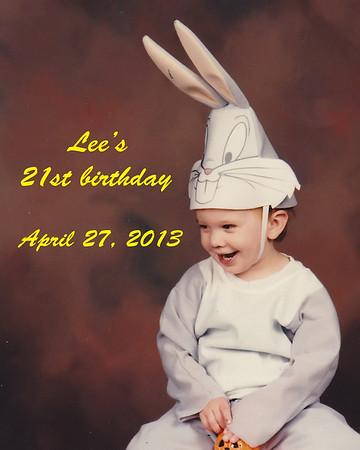 Lee's 21st birthday