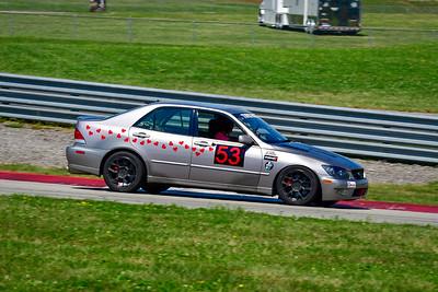 2021 SCCA Pitt Race Aug TT Silver 53 Lexus