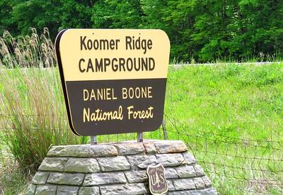Koomer Ridge Campground, KY