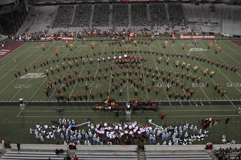 UC Marching Band, UC vs. Delaware State, Nippert Stadium, Cincinnati, OH