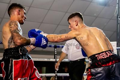 Leon Gower vs Brad Foster Midlands Area Bantamweight Championship