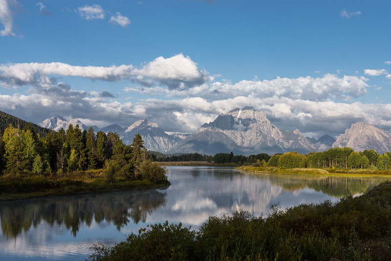 Oxbow Bend, Morning