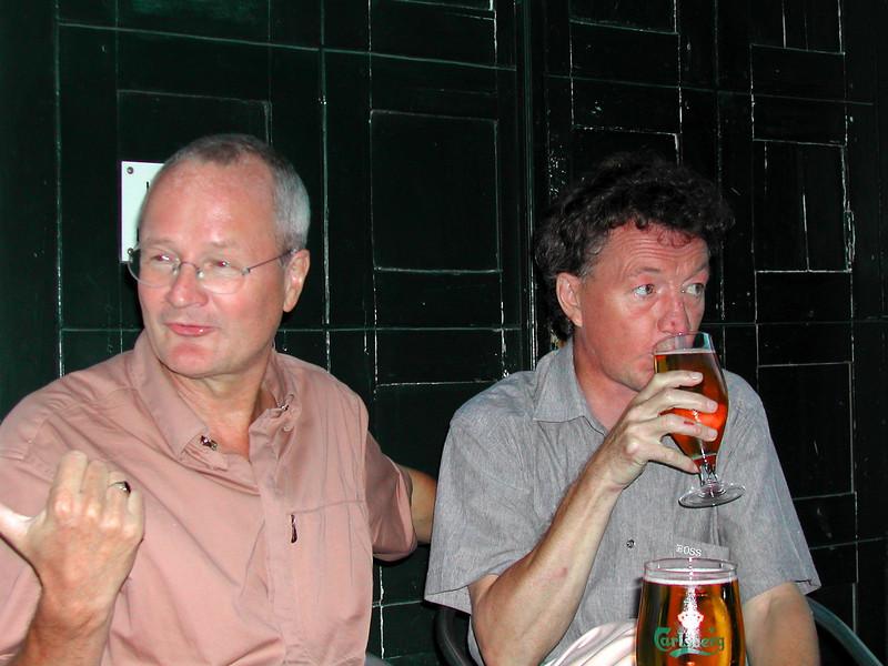 Henning Sandau og Kur Benny