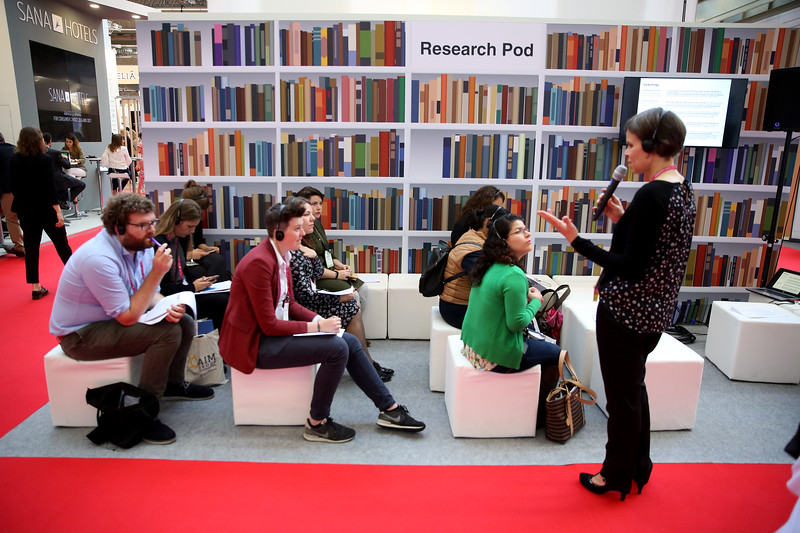 A session on the Research Pod