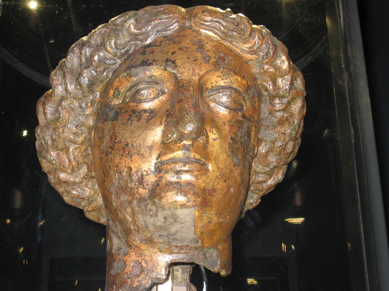Head of Minerva, Bath