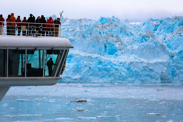 Hubbard Glacier, Alaska - May, 2014