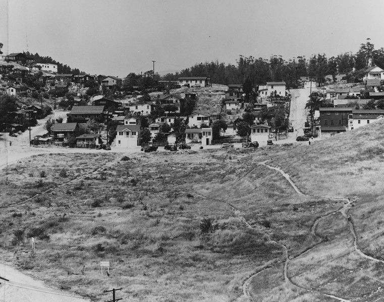 1950, Partially Developed Land