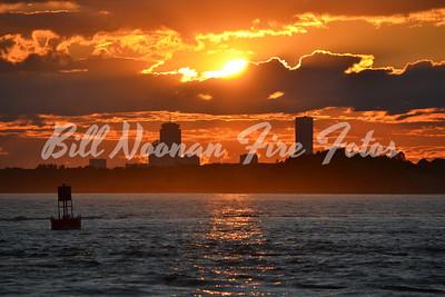 Sun Set from Hull Gut...