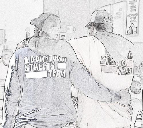 SJ Downtown Streets Team - Jan. 20, 2016