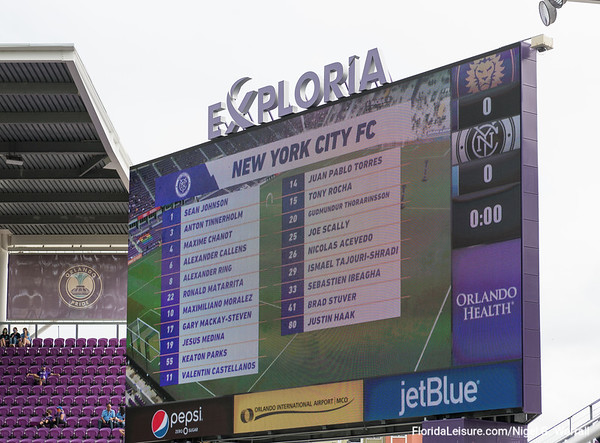 MLS2020 Play Offs - Orlando 1 NYCFC 1