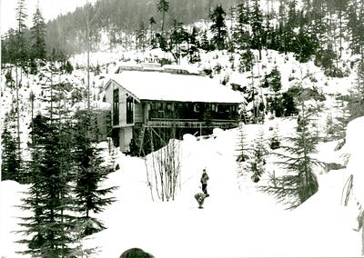 Varsity Outdoor Club Cabin (AMS - UBC Whistler Lodge), 1965
