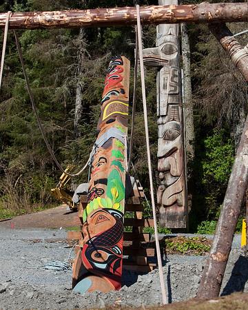 Totem Park Centennial Pole Raising