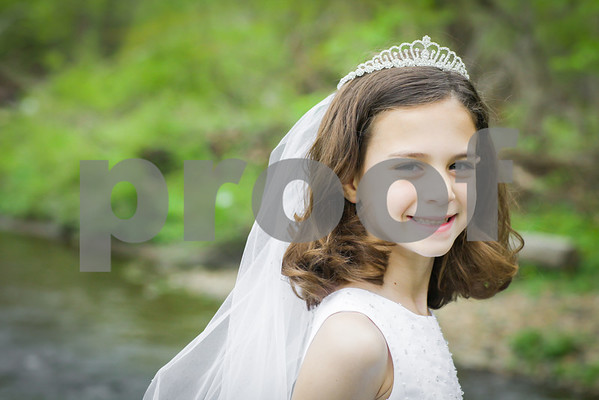 Anna D First Holy Communion Portraits