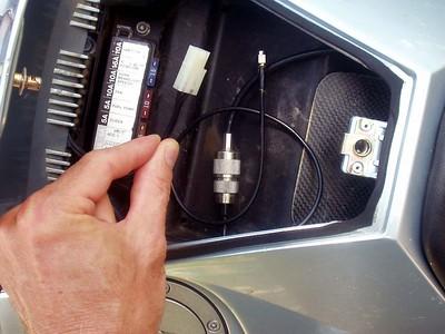 Amateur Radio on the KTM, July 2004