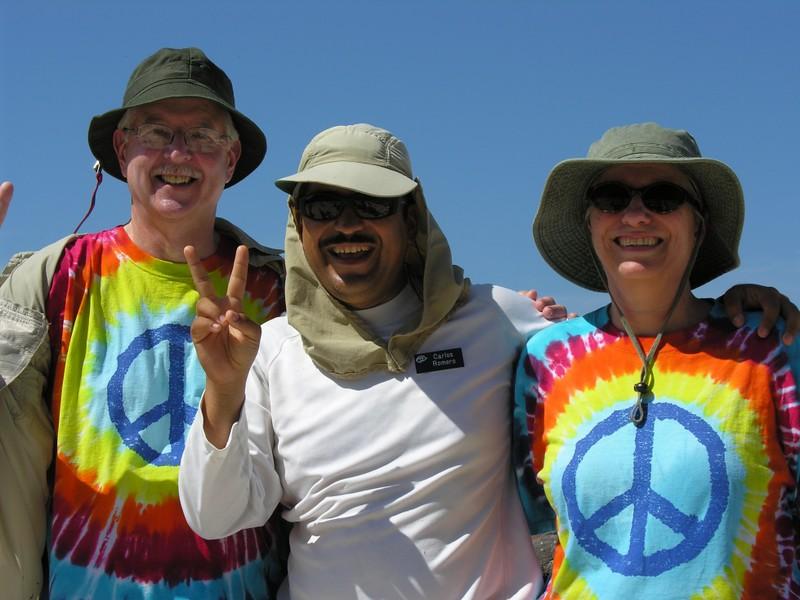 Bill & Theda White with Carlos Romero - Kim Collins