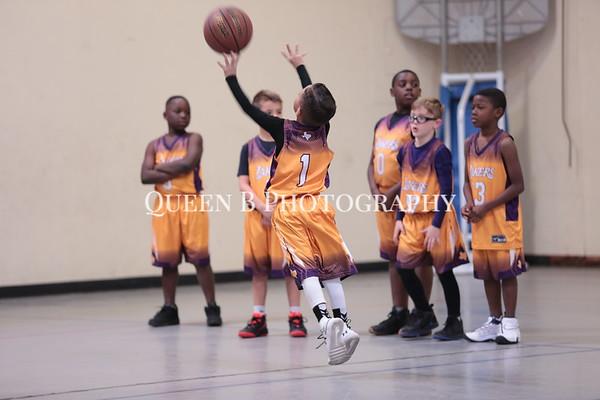 Micaiah and Bryson - basketball 2019