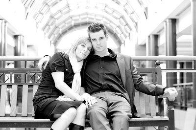 Tanya & Dustin Engagement Photos Feb 14, 2009