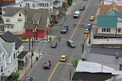 Views From Top of ABC High Rise, Tamaqua (5-23-2013)