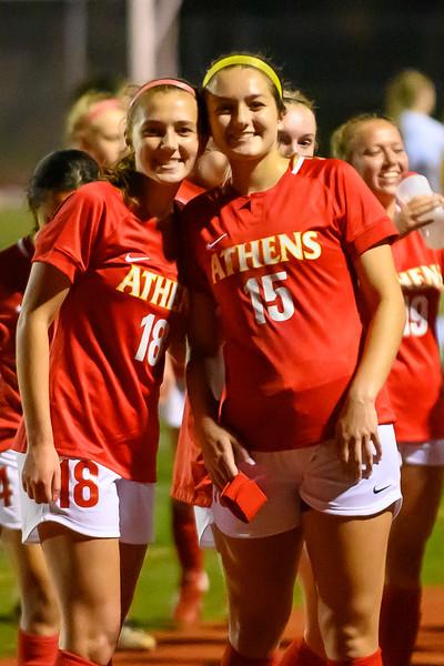 Troy Athens Girls V Soccer 2019