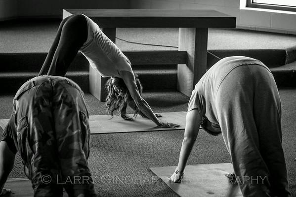 Yoga at Pendleton