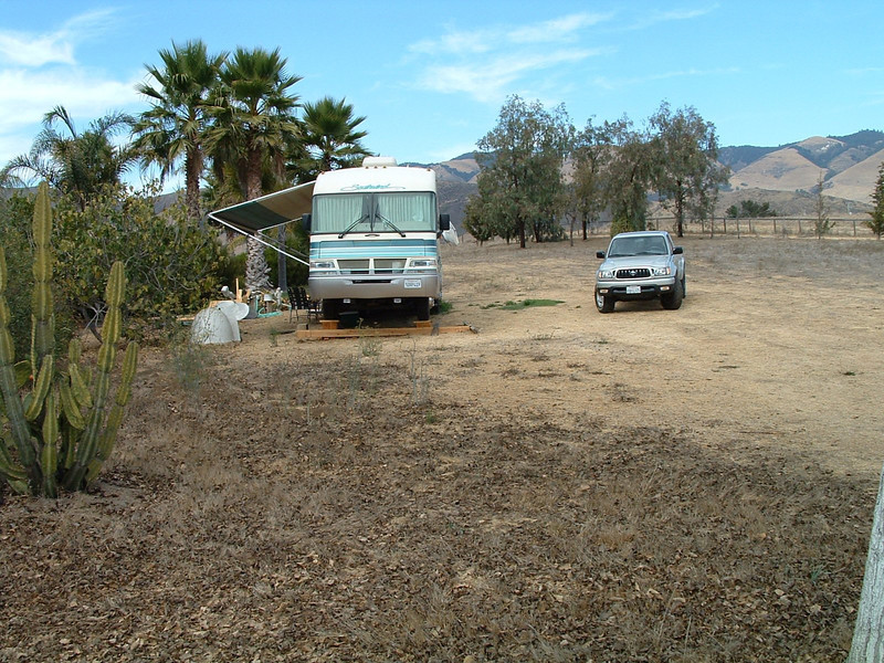 Bridgecreek Ranch, San Luis Obispo, California Motorhome