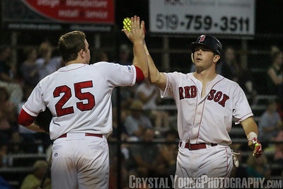 Maple Leafs at Red Sox - IBL Playoffs Round 1 Game 1
