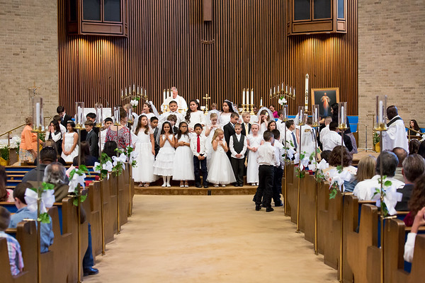 2018 - HFCC First Communion