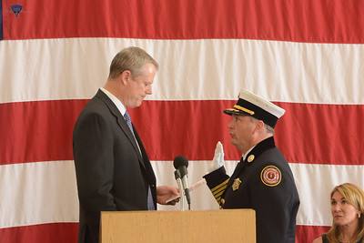 Fire Marshal Peter Ostroskey Swearing In Ceremony - 052616