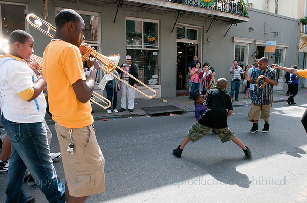 McDonogh #15 Children's Mardi Gras Parade 2011
