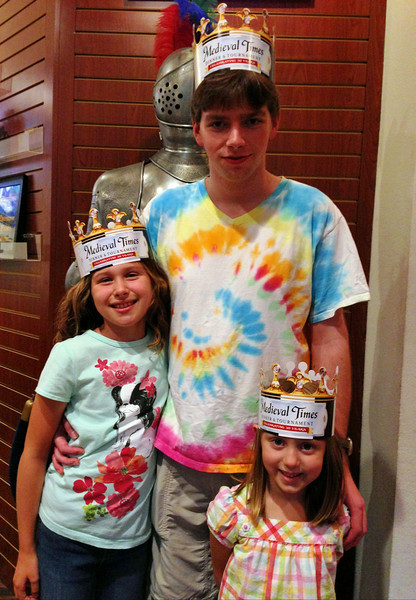Madeline, Kyle and Lizzie